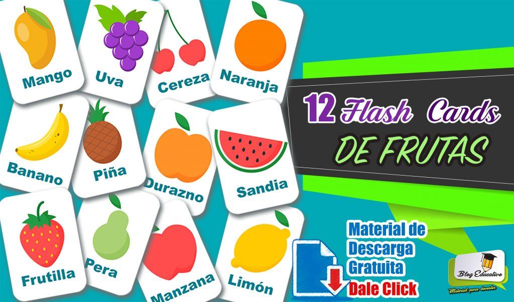 Flash Cards De Frutas