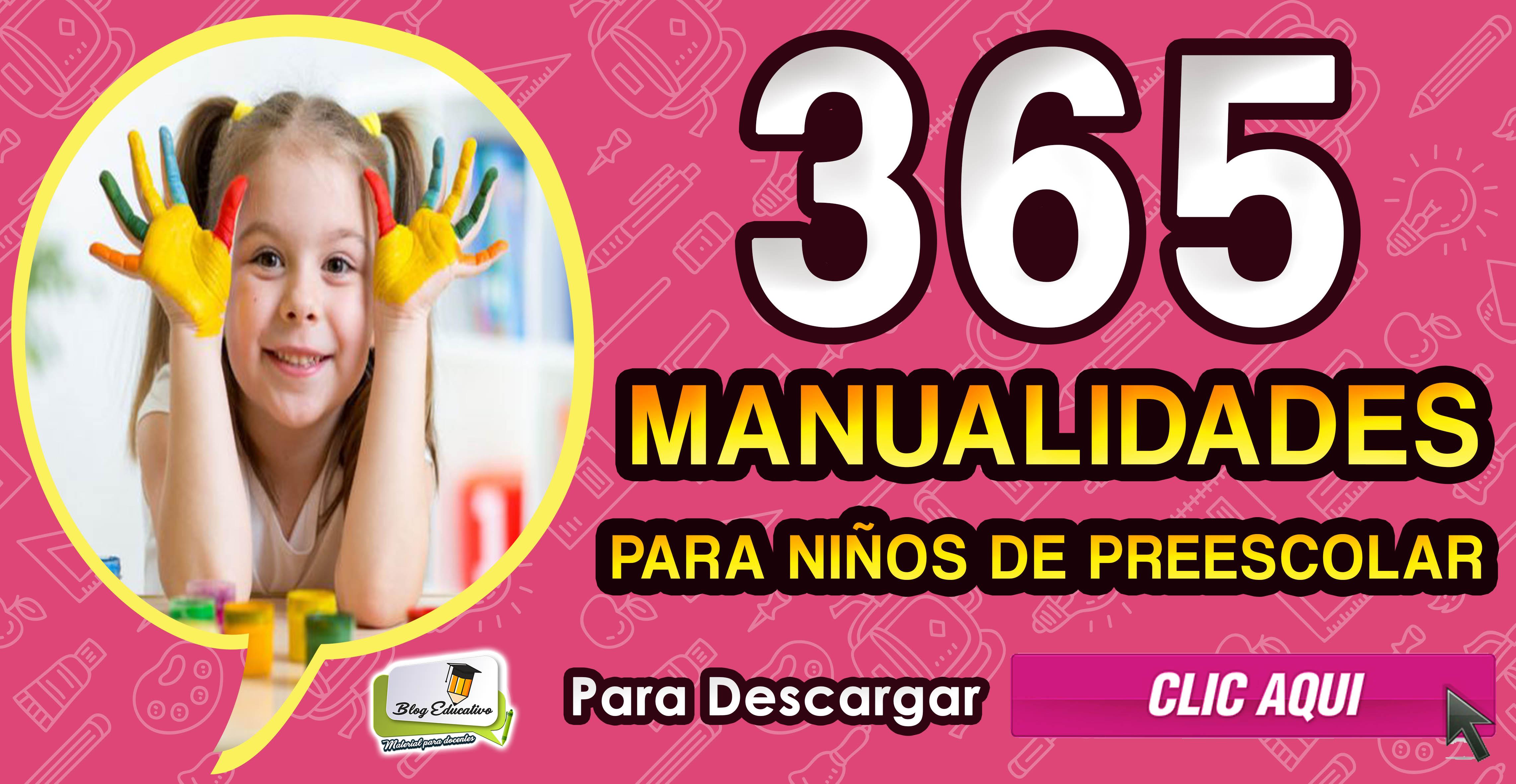 365 Manualidades Para Ninos De Preescolar Blog Educativo