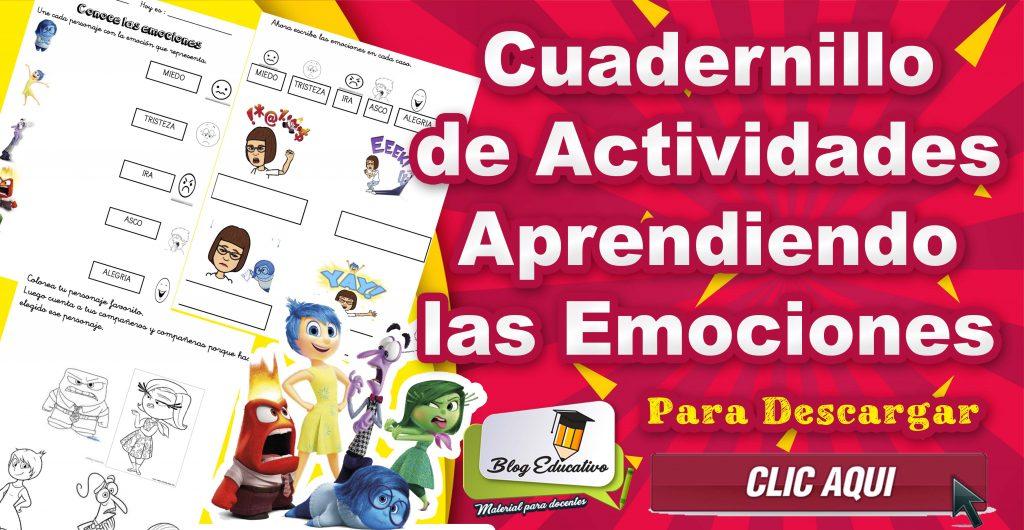 Cuadernillo de Actividades – Aprendiendo las emociones