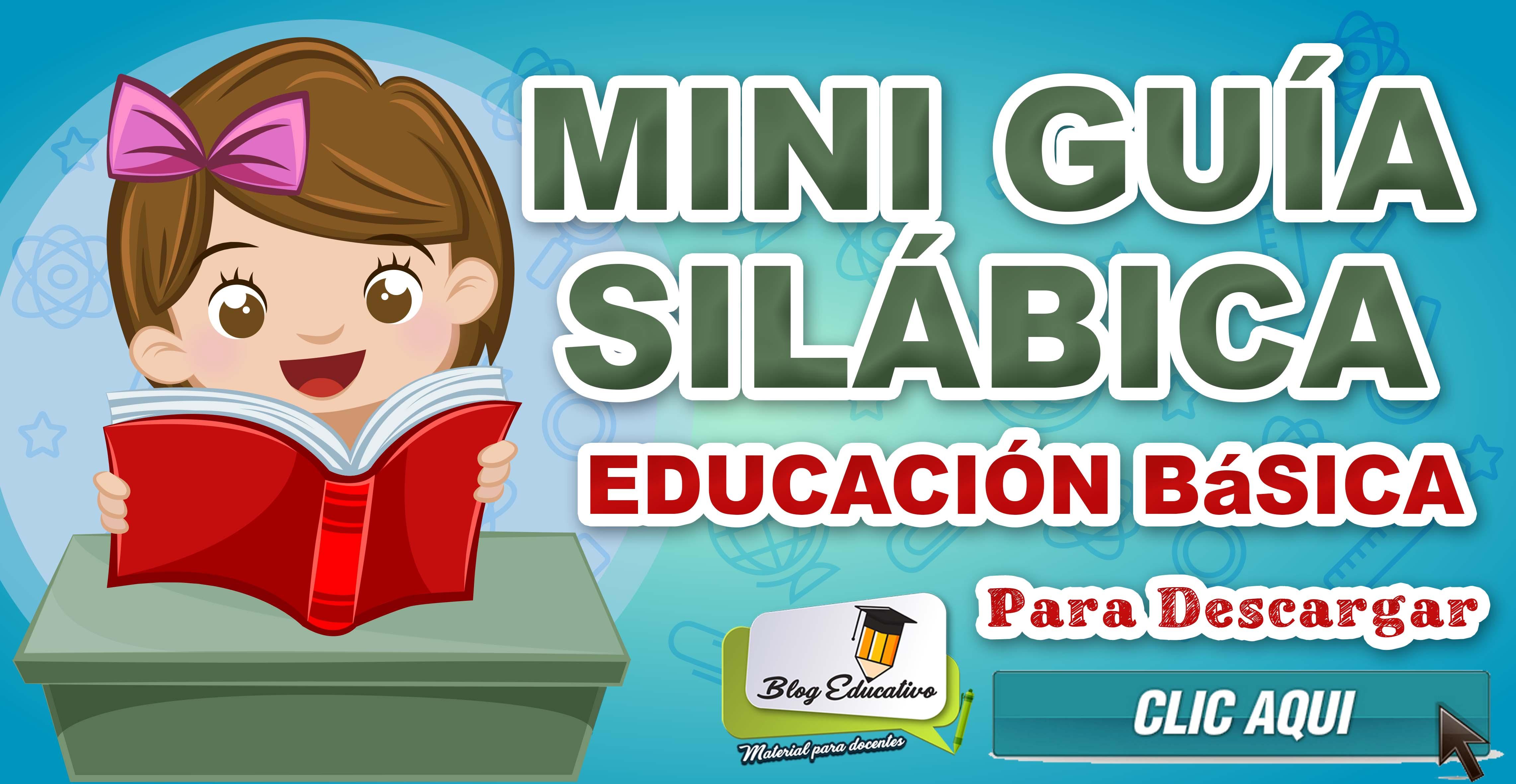 Mini Guía Silábica gratis para niños - Blog Educativo