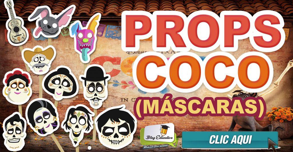 Props Coco Pixar – Máscaras
