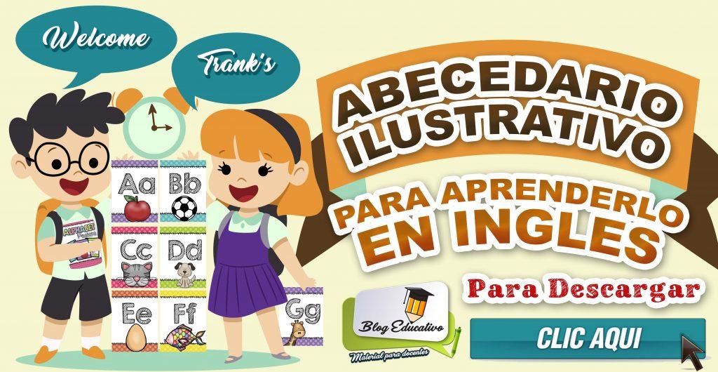 Abecedario Ilustrativo – Para aprenderlo en Ingles