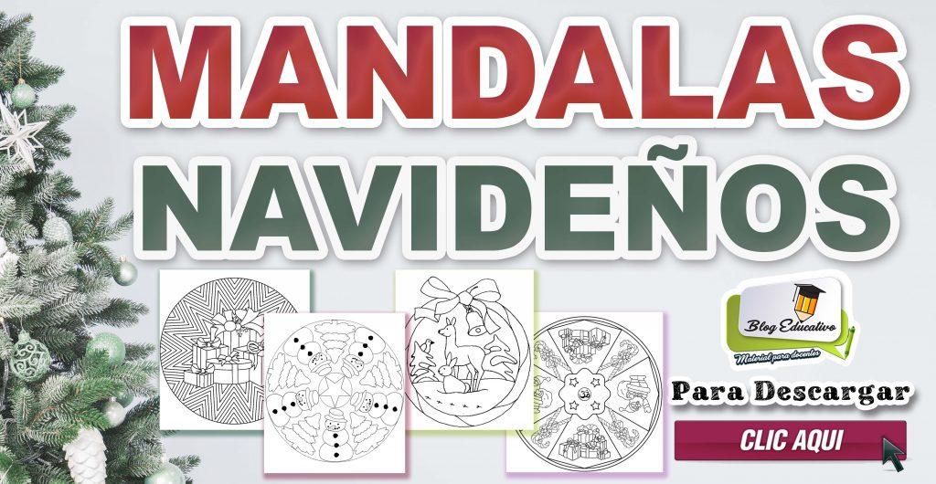 Mandalas Navideños – Material Gratis
