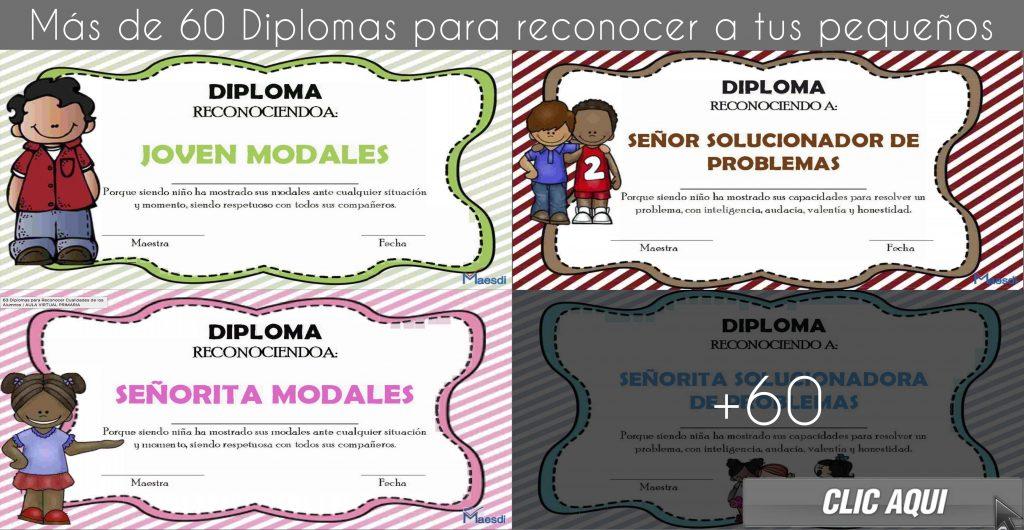 60 Diplomas creativos para reconocer a tus alumnos