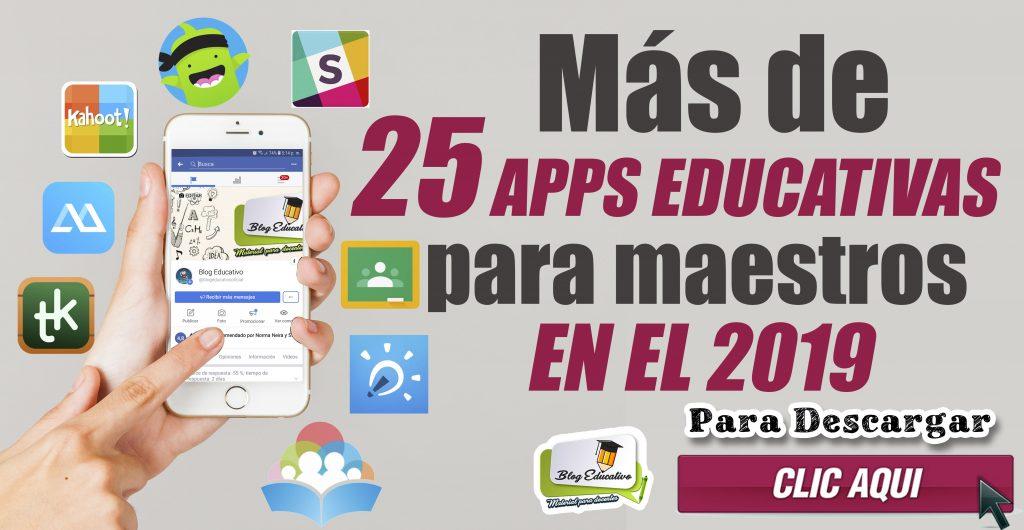 APLICACIONES EDUCATIVAS PARA MAESTROS EN EL 2019