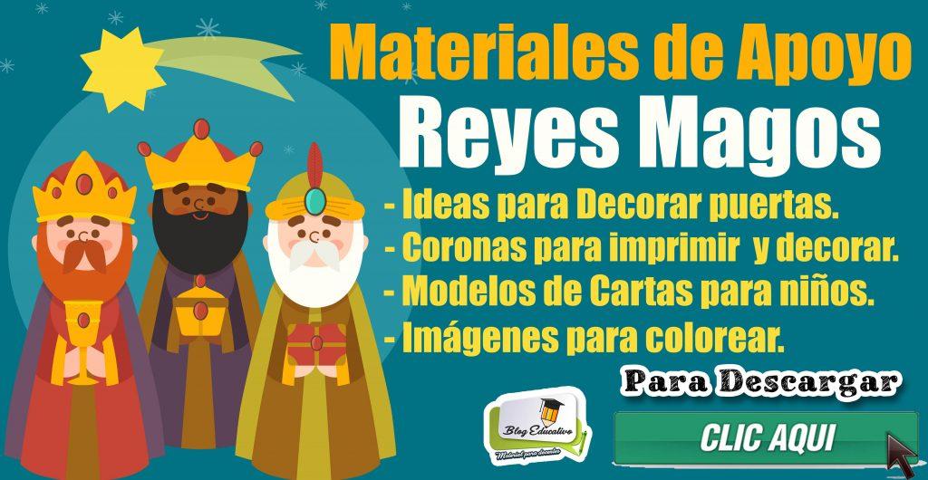 Materiales de apoyo por los Reyes Magos