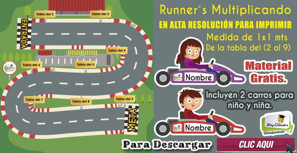 Runners Multiplicando – Material Gratis