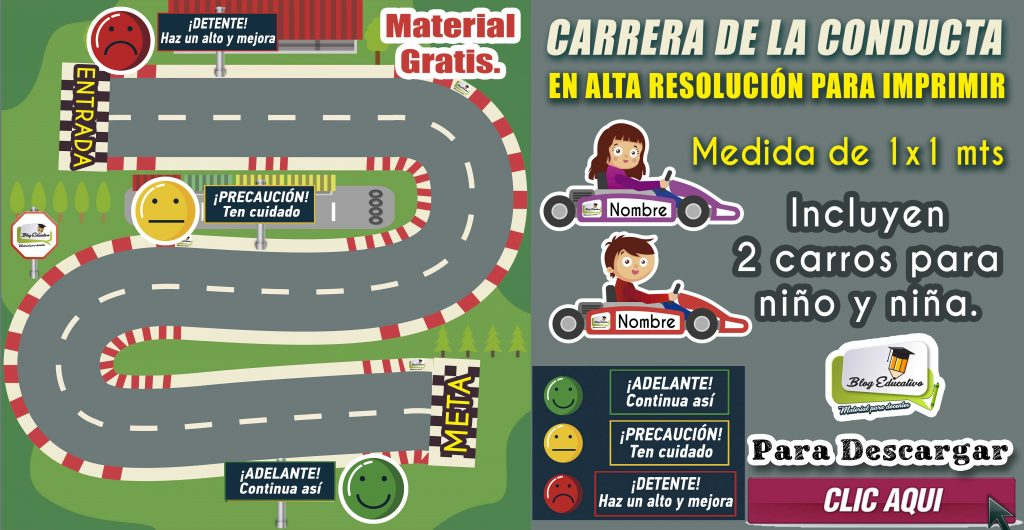Carrera de la conducta en alta resolución – Material Educativo Gratis