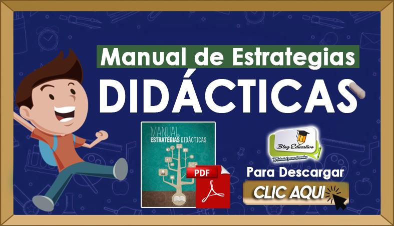Manual de Estrategias Didácticas - Blog Educativo